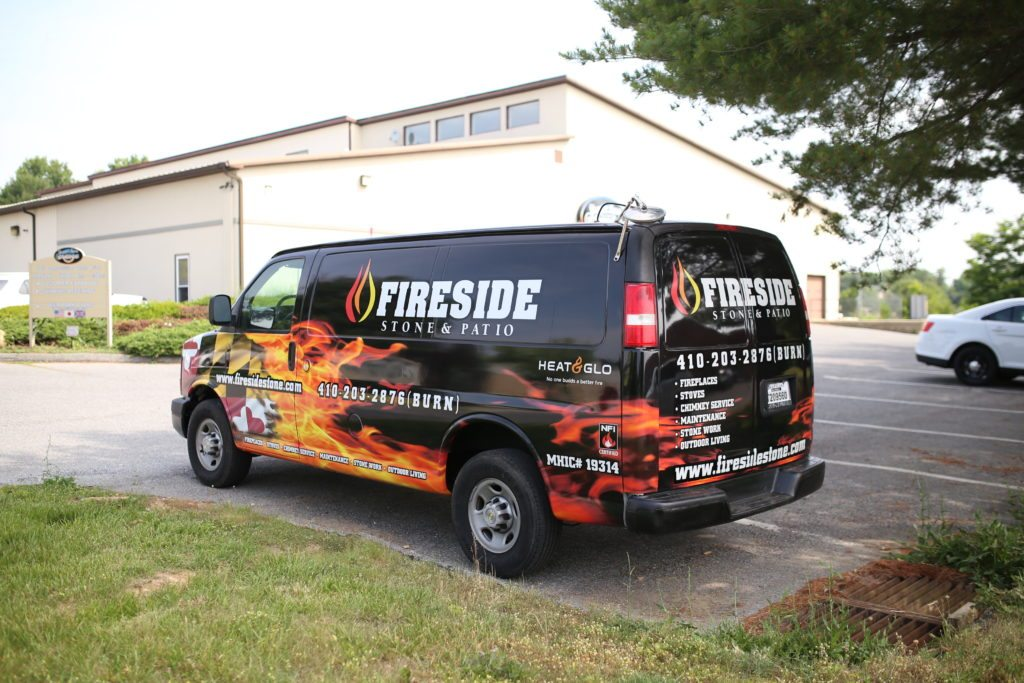small van vehicle wrap