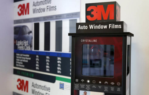 3M Window Tinting Display