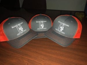 Embroidered logo hats for Hudson