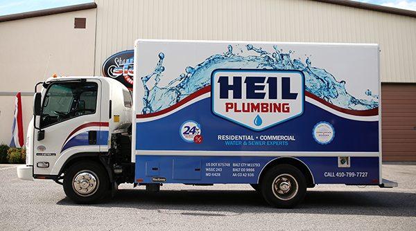 Plumbing Business Vehicle Wrap
