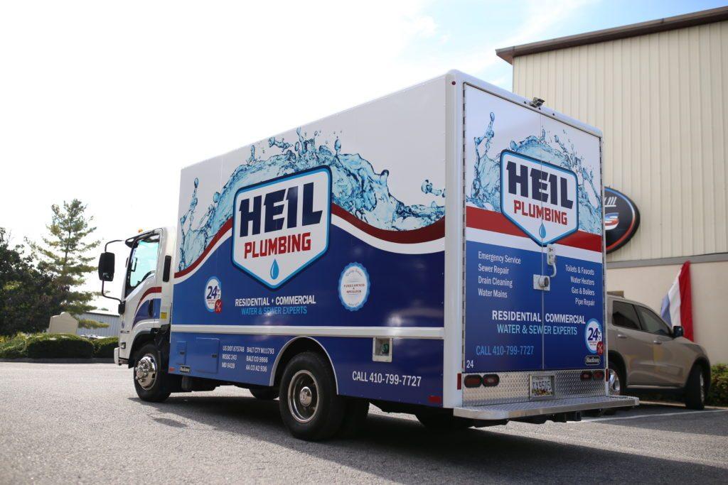 Truck with vinyl Wrap