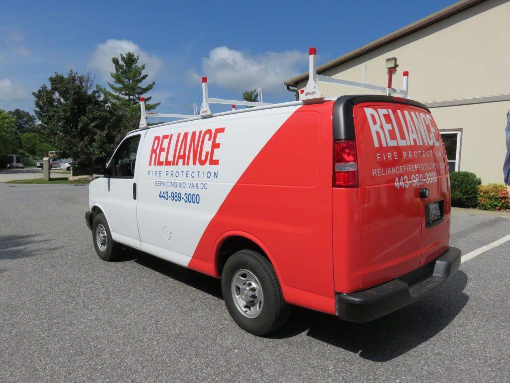 vinyl wrap on van