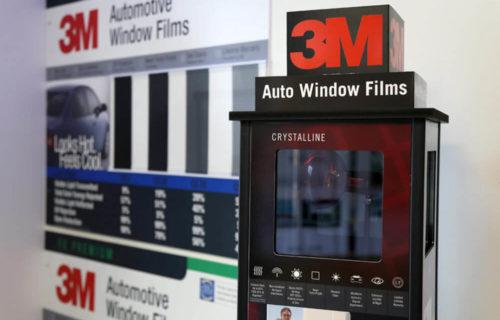 3M Window Tinting Display