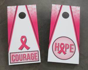 Breast Cancer Awareness Corn Hole Boards
