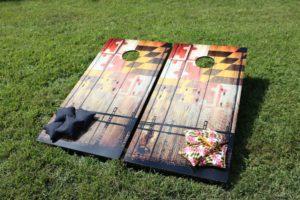 corn hole boards