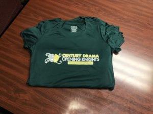 Screenprinted short sleeve shirts